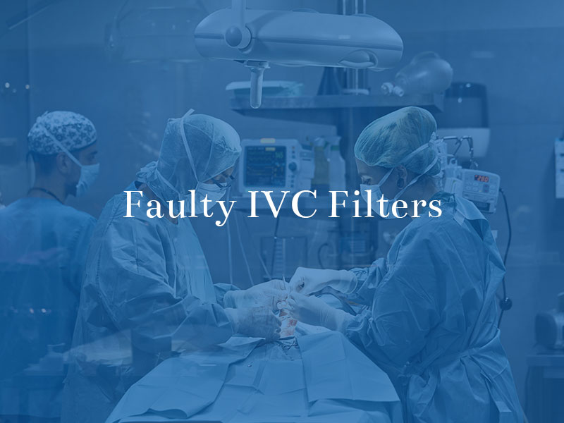 faulty IVC filters